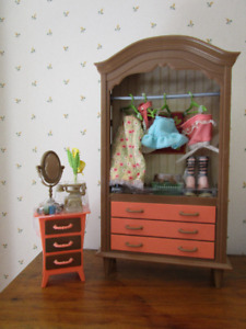 My Scene Doll Furniture Bedroom Set Mattel Barbie Unused