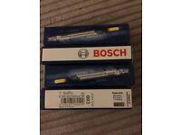 x4 Bosch Duraterm Glowplug 0250 202 022 VW Golf Tdi Audi A4 Diesel Glow Plug