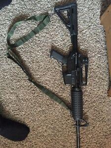 KJworks KJ M4 V2 airsoft gun