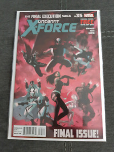 Uncanny X-Force #35 last Issue