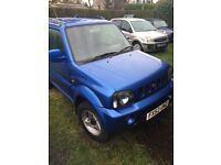 Suzuki Jimny 1.3 JLX (blue) 2002