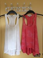 Forever 21 XXI butterfly tank tops