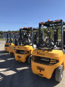 VENCHI : Forklift, Loaders, LightTowers NEUF 2018