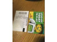 Legoland tickets for 27/10/2016