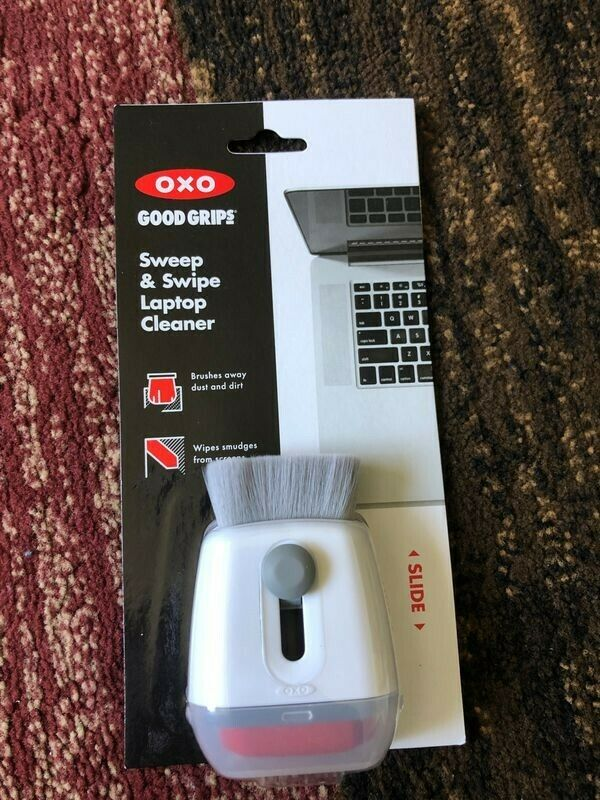 OXO Good Grips Sweep and Swipe Laptop Cleaner - New Open Box