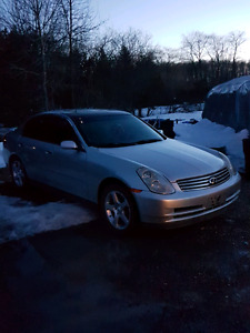 infinty G35 for sale mabe tarde let me know wat u got iputin6000