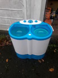 Leisurewize portable twin tub washing machine
