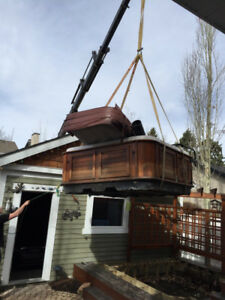 Hot Tub, Garden Shed and Playhouse Movers