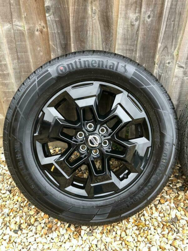 Nissan Np300 Navara Black Alloy Wheels Tyres 18 For Tekna N Guard 2019 In Eynsham Oxfordshire Gumtree