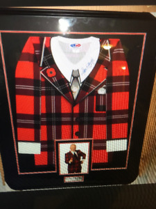 DON CHERRY AUTOGRAPHED JERSEY