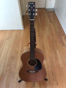 Simon and Patrick Acoustic Guitar (Woodland - Cedar)