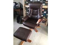 Leather Office Chair with Massager