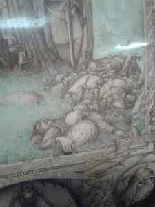 Rare Lord of the Rings  on Wood -Few in the WORLD MADE Windsor Region Ontario image 9