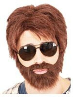 Vegas Hero Wig And Beard Alan Garner The Hangover Movie Zach - Alan Hangover Halloween