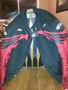 Large Honda Joe rocket textile protection motorbike jacket Strathcona County Edmonton Area image 2