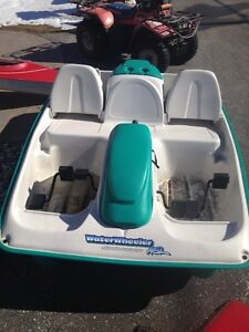 Water Wheeler ASL 5 person Pedal Boat