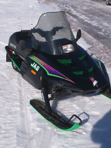 1993 Arctic Cat Jag z in great condition
