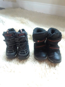 Used jr. boys winter boots