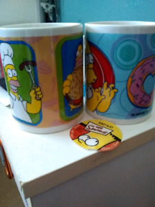 Official Simpsons mugs