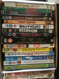 Over 30 DVDs bundle for sale