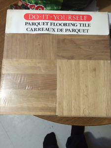 180 sq ft - Brand new in package parquet flooring tiles