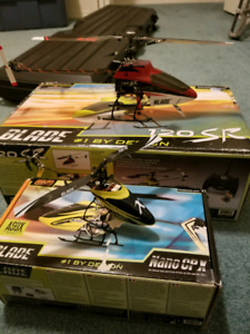Blade RC helicopters
