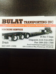 machinery and equipment movers