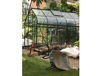 Halls forest greenhouse 10ft x 6ft supreme