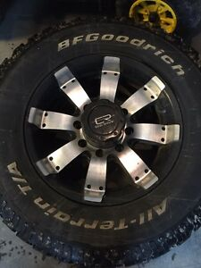 Ram 3500 rims and tires