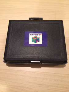 Collectible N64 Block Buster Brief Case with Foam Inset. $60