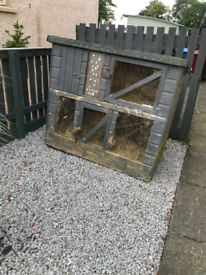 Rabbit hutch FREE gone pending collection.