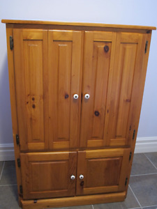 Pine Television Cabinet