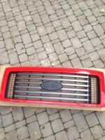 2012 Race Red Ford F150 FX4 grille
