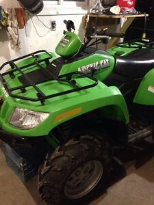 2007 arctic cat 500, only 650km