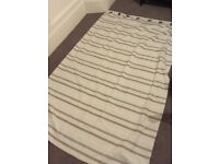 Two sets of ikea curtains 1m40 by 2m25 per curtain