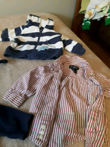Lot of 18 6-9 month boys clothes