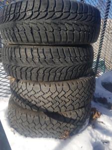 4x winter tires / pneus d'hiver 175/65/14