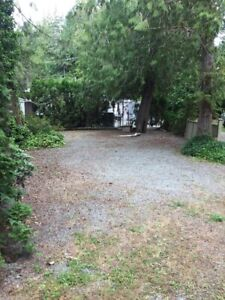 RV Lot at Tall Timbers on Sproat Lake