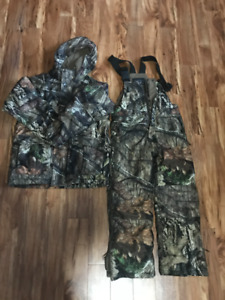 Boys Camo Herters Youth Jacket and Skipants