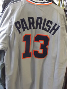 N.W.T. MITCHELL & NESS LANCE PARRISH JERSEY SIZE LARGE Windsor Region Ontario image 1