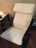 Poang ikea chair hardly used recently cleaned