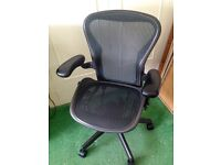 Herman Miller size B Aeron Operators Chair