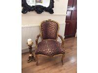 Stunning shabby chic chair