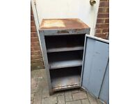 Metal tool locker / cupboard