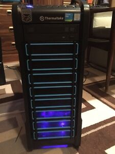 Gaming PC, powerful for gaming, video editing or entertainment