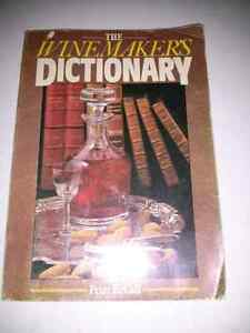 The Wine Makers Dictionary by Peter McCall Kitchener / Waterloo Kitchener Area image 1