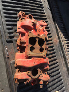 1967/68 Gm Vintage 4 bbl Intake Manifold For Sale SBC 327/350