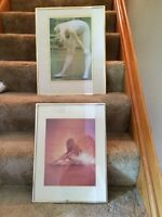 Framed pictures - dance/ballerina photos