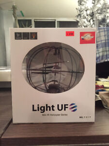 LIGHTS UF Mini IR Helicopter Robotic Sphere Series Toy BOXED