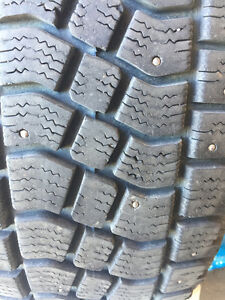 Studded winter tires on rims Edmonton Edmonton Area image 3